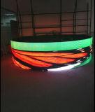 P4.81 옥외 구부려진 이동할 수 있는 LED 스크린 임대료 비용