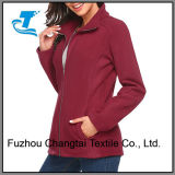 Manga Larga mujer Full-Zip Fleece Coat chaqueta