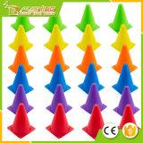 12/24-Pack en gros Kevenz cônes en plastique multicolores universels de 7 po. d'épaisseur de circulation