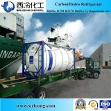 Tanque de ISO de fluido criogénico CAS: 75-28-5 o isobutano R600A para venda