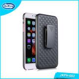Het in het groot Harde Shell Mobiele Geval van de Telefoon voor iPhone 6 plus het Geval van het Holster Combo