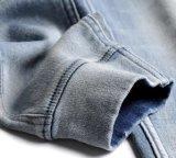Джинсыы джинсовой ткани супер тощие плюс размер протягивают высокую повелительницу Jean шкафута