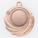 Изготовленный на заказ бронзовое глянцеватое медаль пробела раковины золота для промотирования