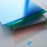 Strato gemellare protettivo UV della cavità del policarbonato della parete per materiale da costruzione
