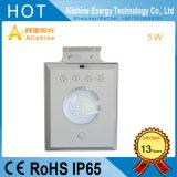 5W alle in einem Solar Energy LED-Straßenlaterne