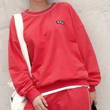 Женская одежда мода простой спорта Hoodies