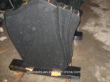 Lápida mortuaria negra fina del granito de Qualtity en el estilo ruso