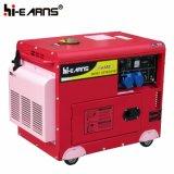 De luchtgekoelde Enige Diesel van de Cilinder Enige Fase van de Generator (DG5500SE)