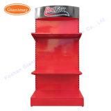 Магазин розничной торговли Custom порошковое покрытие высокого качества утюг металлические стойки дисплея с полками для автомобильных деталей