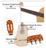 Гитара сбор винограда тела Aiersi прокатанная качеством классическая