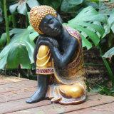 屋内および屋外の装飾の樹脂の大きいBudhaの新しく旧式な彫像