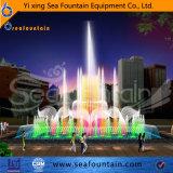 De Dansende Marmeren Fontein van de LEIDENE Muziek van de Verlichting
