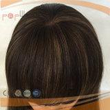 De Braziliaanse Maagdelijke Pruik van het Silicone van het Haar voor Alopecia (pPG-l-0148)