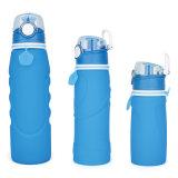 бутылка воды силикона качества еды сейфа 550ml 100%