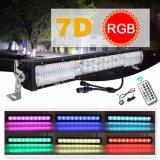 Barra de LED RGB de 300W 12V 4X4 Offroad llevó la luz de conducción