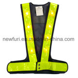 Светоотражательная лента безопасности Майка майка для лучшей видимости для верховой езды