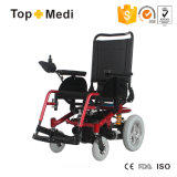 2017の新製品の折りたたみの衝撃の引きつけられるシート・クッションの横たわる電動車椅子の価格