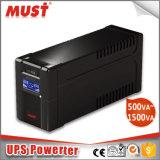 Sec et ligne numérique carte à circuit imprimé interactive 600va-2000va d'UPS de 650va (PCB) 12V