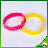 Silicone pur Logo personnalisé Bracelet en silicone avec gaufré