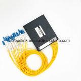 Perdita bassa del dipendente di polarizzazione della scatola di plastica CWDM 16CH Fwdm 1550nm