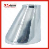 Acero inoxidable saneamiento higiénico Tc sujeción triple reductor concéntricos