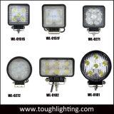 E com o sinal de luzes automático LED 4 polegadas Square 15W/18W/27W/48W Epistar LED da lâmpada de trabalho
