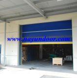 Industrial automática rápida de alta velocidad de la puerta de tela de PVC