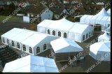 結婚披露宴および宴会のための玄関ひさしのテント