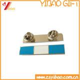 Изготовленный на заказ Pin штанги металла с крышкой тесемки (YB-MP-55)