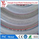 Mangueira de PVC reforçado com fibras têxteis sintéticas