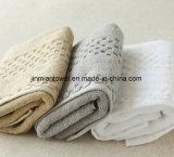파이브 스타 호텔 면 테리 의 백색 발닦는 매트
