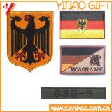 Correcciones tejidas/divisa del bordado del ejército de Alemania con Hierro-en la parte posterior (YB-ST-006)