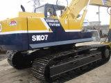 Máquina escavadora usada Sk07 da esteira rolante de Kobelco com martelo de Jack original de Japão