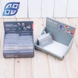 Commerce de gros noir Emballage cadeau noir rigide de boîtes à cigares d'emballage du papier