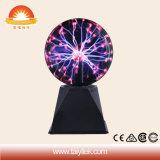 La energía de Plasma esfera bola de cristal Lámpara de rayos parte