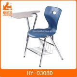 メモ帳が付いている安い学校の教室の家具の講議椅子