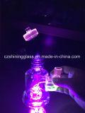 Fulgor Shining na tubulação de fumo de vidro da tubulação de água do reciclador da luz UV