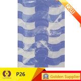 Azulejo de cerámica esmaltado cuarto de baño de la pared del azul de los barato 20X30cm (P29)