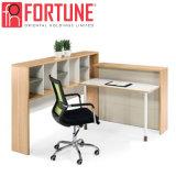 Recepção escritório moderno em madeira para grandes/Pequenas Empresa (FOH-RD-2410-A)