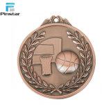 Médaille de bronze rouge Antique Wrestling médailles sportives