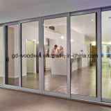 De Zware Schuifdeur van Woodwin met Aangemaakt Glas