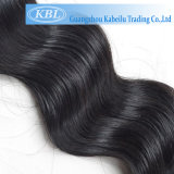 Grands cheveux humains brésiliens courants de noir de gicleur