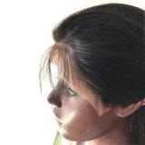 중간 부분 바디 파를 가진 Glueless 레이스 정면 사람의 모발 가발
