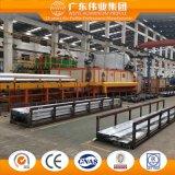 Perfil del aluminio/del aluminio/de Aluminio de la ventana de la fábrica de la tapa 10 de China con el tratamiento de la capa del polvo