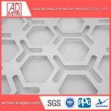 Corte a Laser em alumínio com pintura metálica perfurada Partição Painéis// Telas Bi-Folding Divisor de quarto