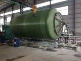Recipiente da embarcação do tanque da fibra de vidro da fibra de vidro FRP de GRP