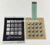 Flache geprägte Matrix Alphanumetric 6 Schichten Membranen-Tastaturblock-