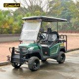 セリウムは4つのシートのFoldableシートが付いている電気持ち上げられたゴルフカートを承認した