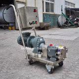 위생 스테인리스 회전자 고정자 펌프 또는 로브 펌프