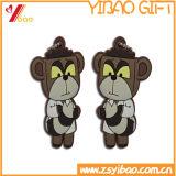 Custom 3D дизайн мультфильмов ПВХ цепочки ключей для рекламных подарков